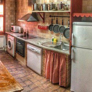 La cocina de el torreon magico de Asin
