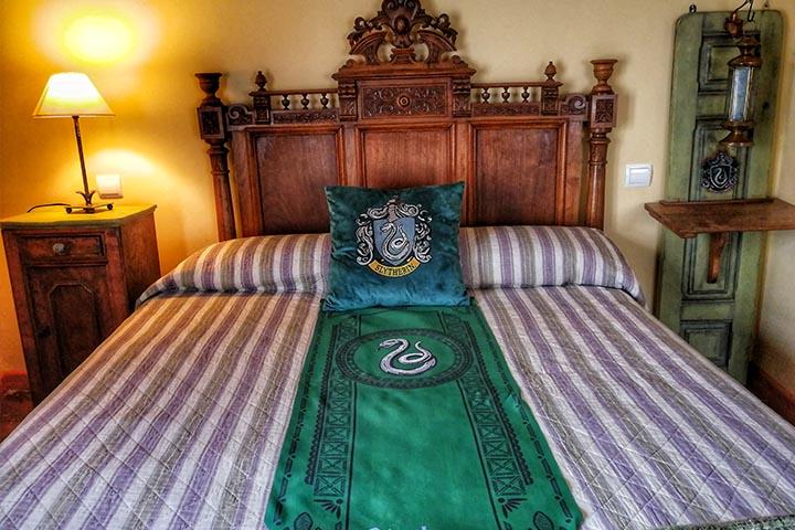 El Torreon Magico de Asin habitacion verde